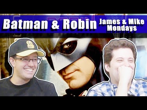 Mike tricks James into playing the worst Batman game ever!