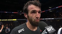 UFC Moscow: Zabit Magomedsharipov Octagon Interview