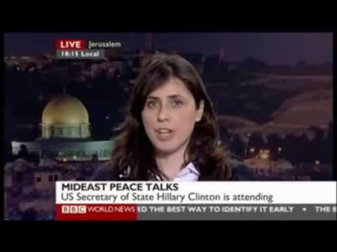 Israeli far right-wing extremist settler politician on the BBC. (Israeli extremists)