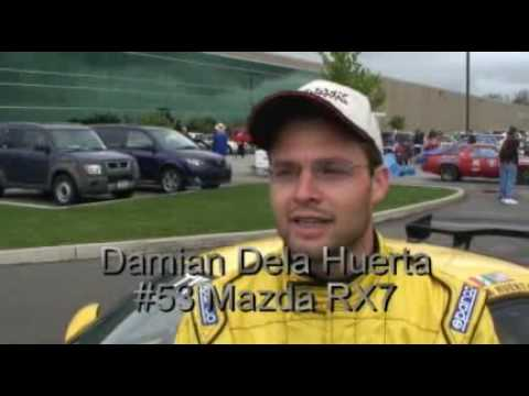 2008 One Lap of America and the smart Part of Racing History