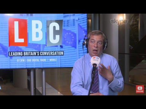 The Nigel Farage Show: The Charlie Gard Case. LBC Live from Strasbourg - 4th July 2017.