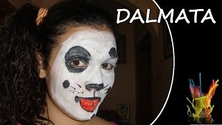 Tutorial truccabimbi - Il dalmata - Truccaviso - Face Painting