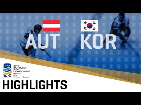 Austria - Korea | Highlights | 2017 IIHF Ice Hockey World Championship Division I Group A