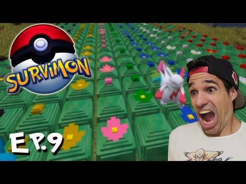 EL PARAISO POKEMON | SURVIMON Pokémon En Minecraft | Episodio 9