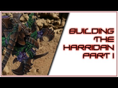 Building the Tyranid Harridan - Part 1
