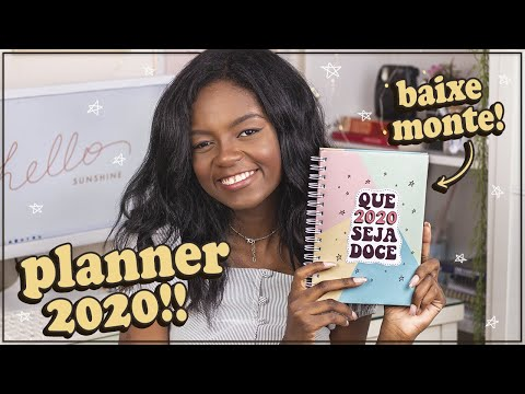 DIY: PLANNER 2020 PARA DOWNLOAD + INSERTS