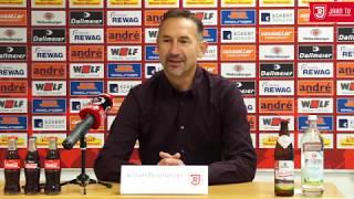 Pressekonferenz vor dem 13. Spieltag gegen den 1. FC Magdeburg