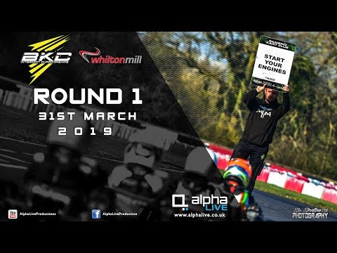 Bambino Kart Club Round 1 2019 LIVE From Whilton Mill