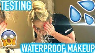 TESTING WATERPROOF MAKEUP | DOES IT WORK?!