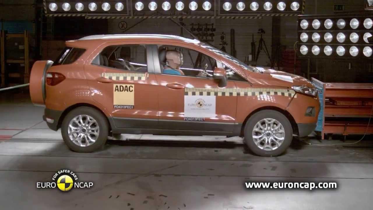 Ford Ecosport CRASH TEST Euro NCAP 2013 & Ford Ecosport CRASH TEST Euro NCAP 2013 - YouTube markmcfarlin.com