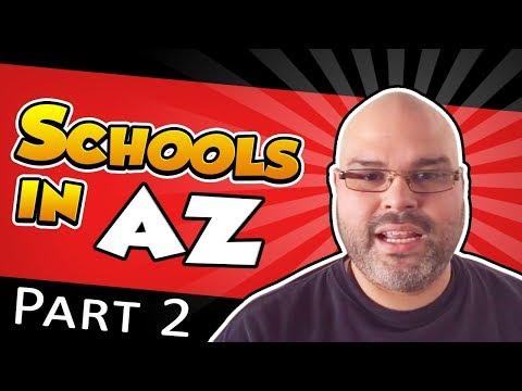 Schools in Arizona - Part 2 | Living in Phoenix Arizona (2018)