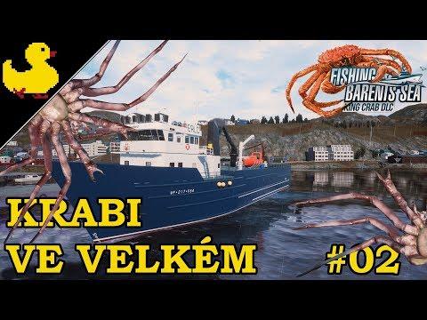 Prohlídka kajut na palubě - Fishing Barents Sea - King Crab DLC CZ #02  