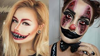 EASY HALLOWEEN MAKEUP TUTORIAL - DEMON #6