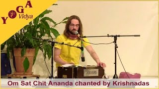 Krishnadas chants Om Sat Chit Ananda