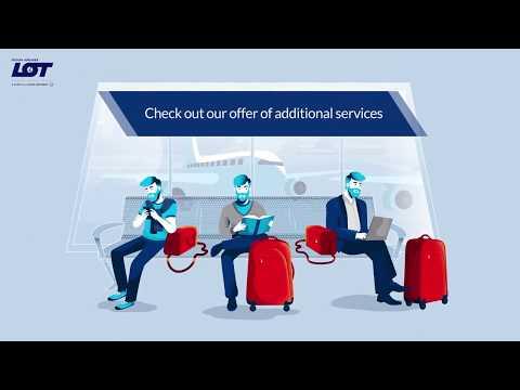 Пропуск багажа в LOT Airlines ручная кладь 55x40x23 см