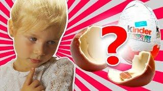 Открываем шоколадные яйца Принцесса София вместе с Сашей!