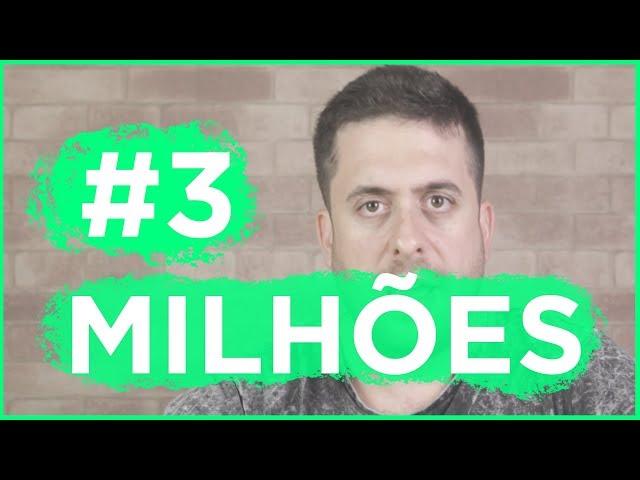 3 MILHÕES DE INSCRITOS l VIDEO EMOCIONAL