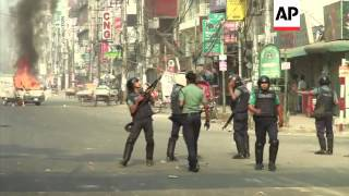 Clashes following the execution of opposition leader Abdul Quader Mollah