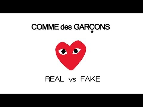 8d9f6ccc0c5837 COMME des GARÇONS Play - Real vs Fake - YouTube