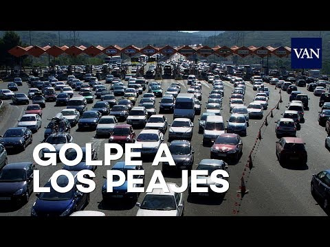 El Gobierno levantará los peajes de las autopistas