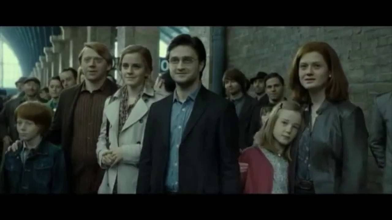 Harry Potter Book Trailer : Harry potter years youtube