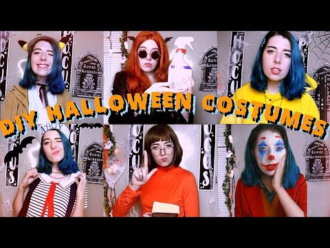 DIY *creative* HALLOWEEN COSTUMES/ Cosplay 2019