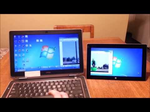 Microsoft Surface Quick Tip: Use Your Surface As A Second Screen Or Monitor Display For A Laptop