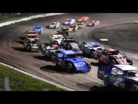 A feature 06/10/18 25! Modified - Part 1 - Eagle Raceway