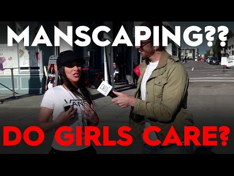 How Should A Guy Manscape?