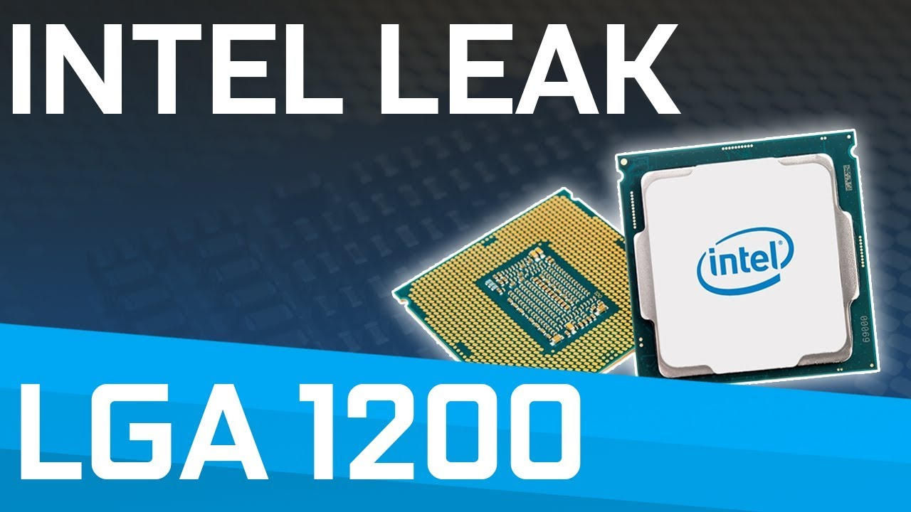 Intel Slides for Comet Lake LEAKED! LGA1159 was FAKE!