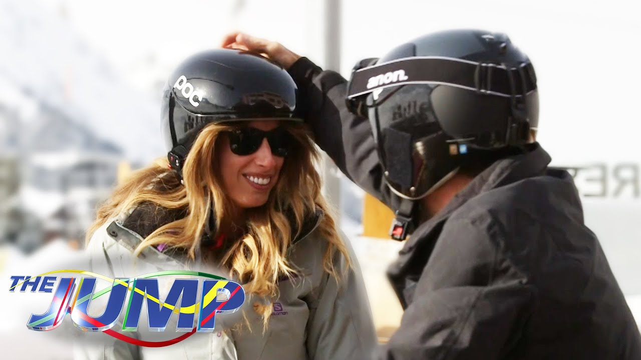Stacey Solomon Denies Romance With Steve O The Jump On The Piste Youtube