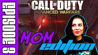 Funny Moments and Fails on Call of Duty because Mom Needs Practice - Advanced Warfare TDM