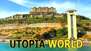 Utopia World Hotel 5 звезд Обзор отеля утопия Ворлд Турция в Алании