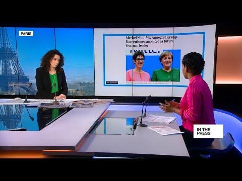 فرانس 24:Meet Annegret Kramp Karrenbauer: Angela Merkel's 'mini-me'
