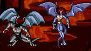 Gargoyles (Genesis) All Bosses (No Damage)