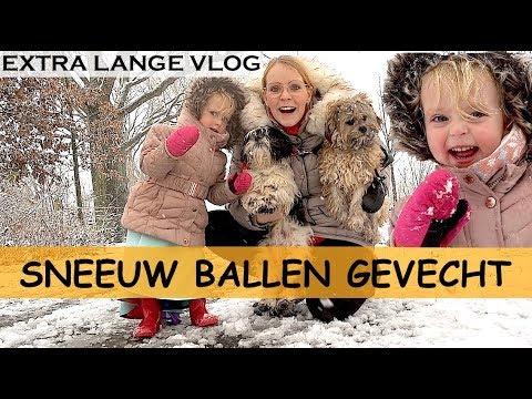 LUCiLLA MAAKT SNEEUWBAL !!! | Bellinga Family Vlog #850