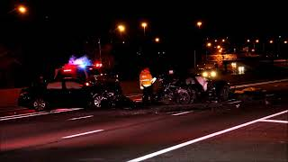 FATAL CRASH ON THE LONG ISLAND EXPRESSWAY IN MELVILLE NY