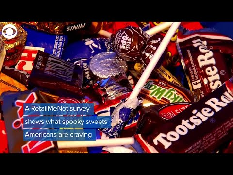 Martha Quinn - What Is America's Favorite Halloween Candy?