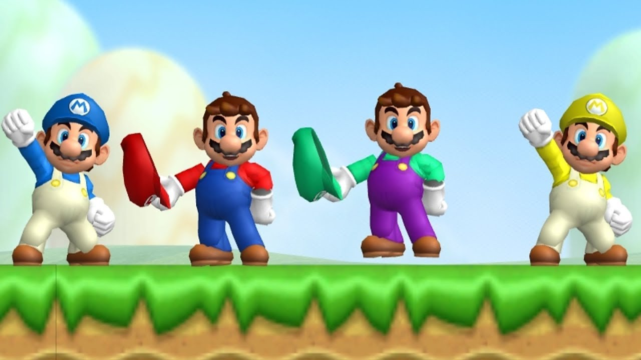 It's just an image of Revered Mario Bros Picture