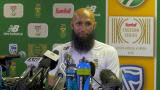 If we have to chase 300, it's fine: Hashim Amla on Johannesburg Test