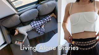 Living Alone Diaries | Spring shopping haul, NYC apartment hunting, Quiet weekends, support needed