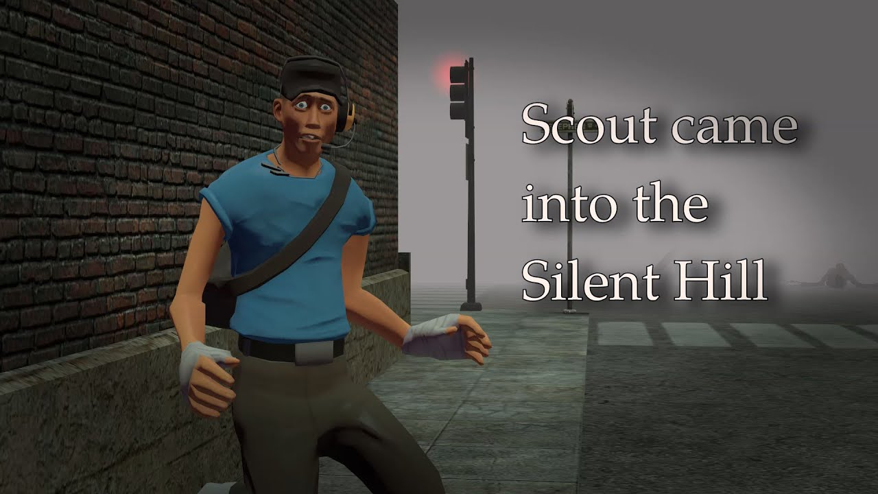 Scout came into the Silent Hill #Scoutvideogameadventure