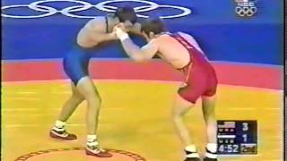 Terry Brands vs Zakhartdinov PT 2 (2000 Olympics)