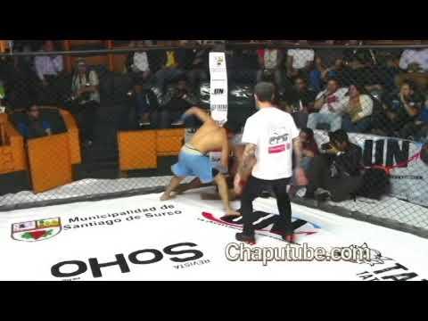PERUVIAN FIGHTER: CARLOS (PERRO MALO)HUACHIN /135 POUNDS/61 Kg.