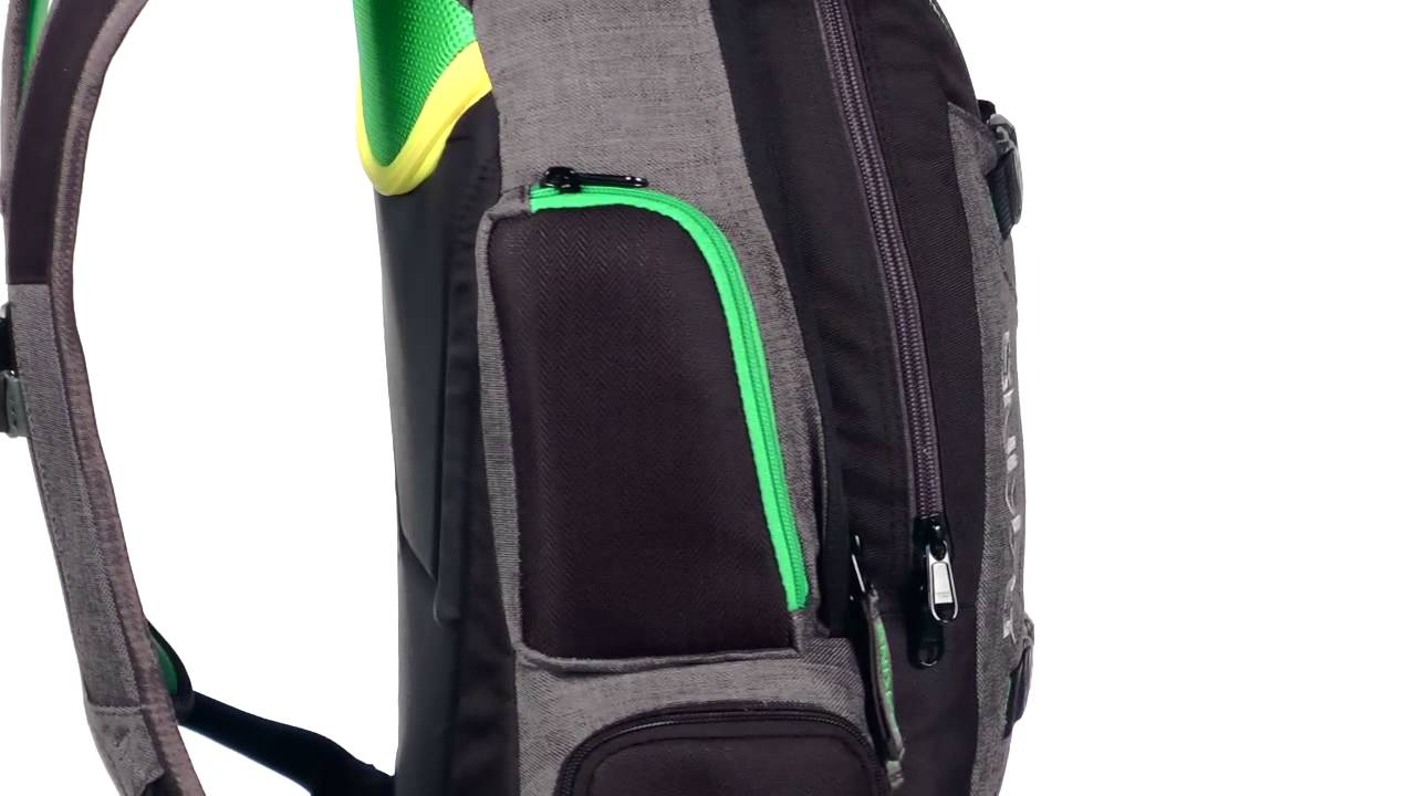 Dakine TEAM MISSION Pack TANNER HALL Ski backpack 25L - YouTube
