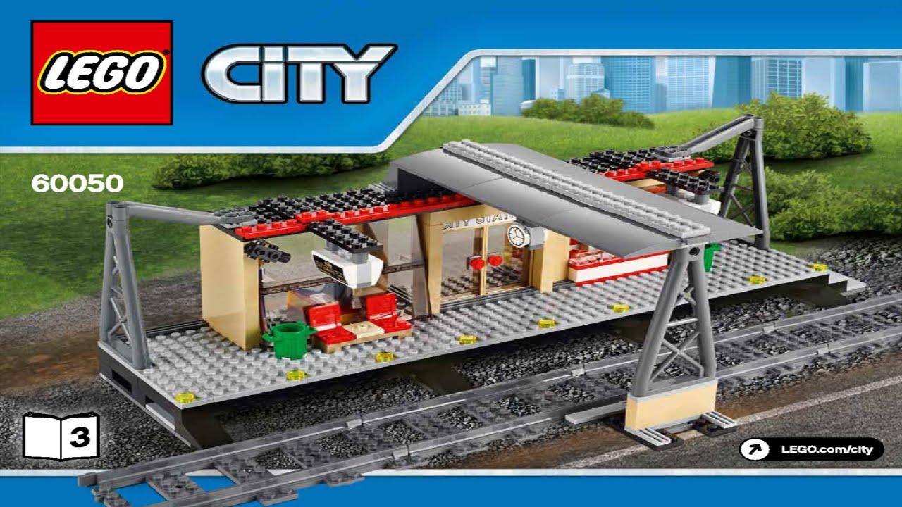 Lego Train Station 60050 Instruction Booklet Youtube