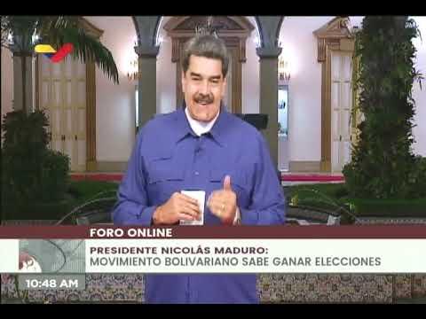 Presidente Maduro en el Festival Internacionalista de los Pueblos en Resistencia
