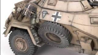 ARMORTEK - Sd.Kfz. 222 1/6th Scale Armoured Car