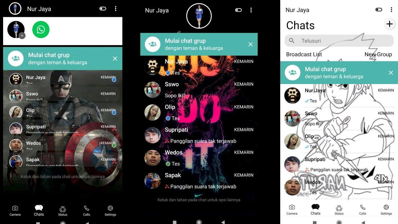 WhatsApp aero terbaru 2020 !! Kumpulan tema keren aero ...