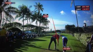 Golf TrackMan Tracer Compilation - Sony Open in Hawaii 2017..